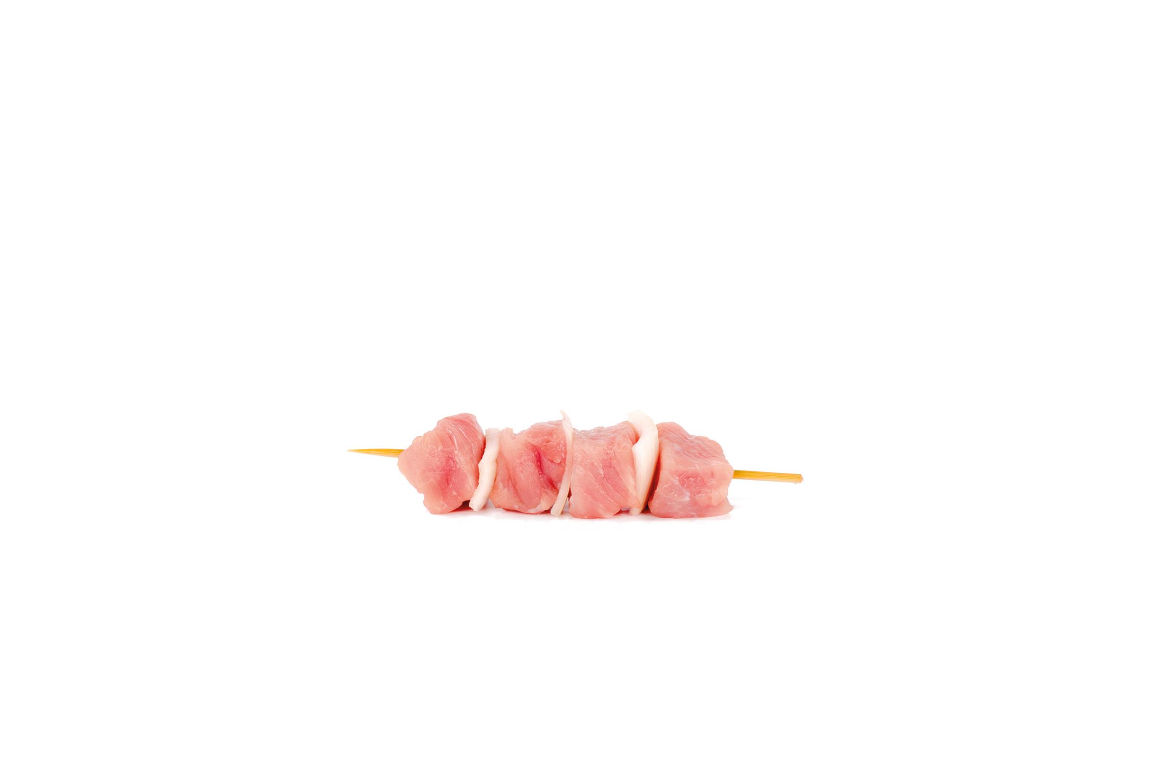 Spieß Schwein