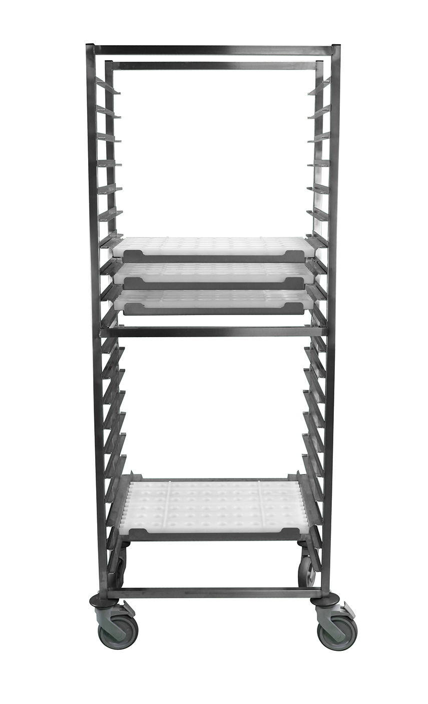 mobile rack trays P1000 recht