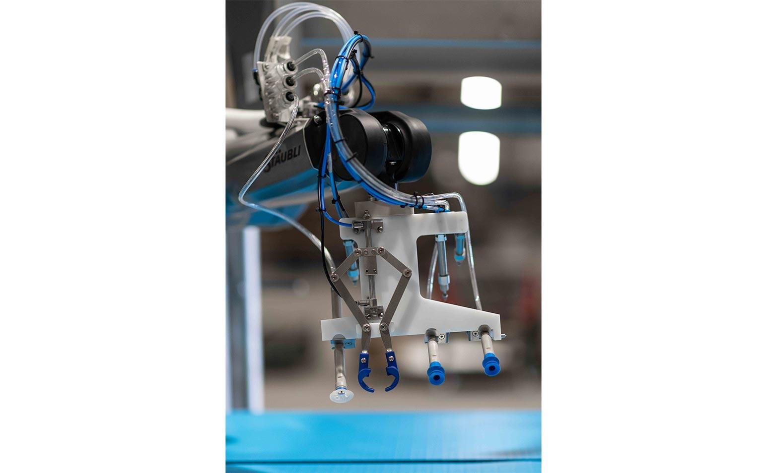 2018 doorontwikkeling robotisatie P&S