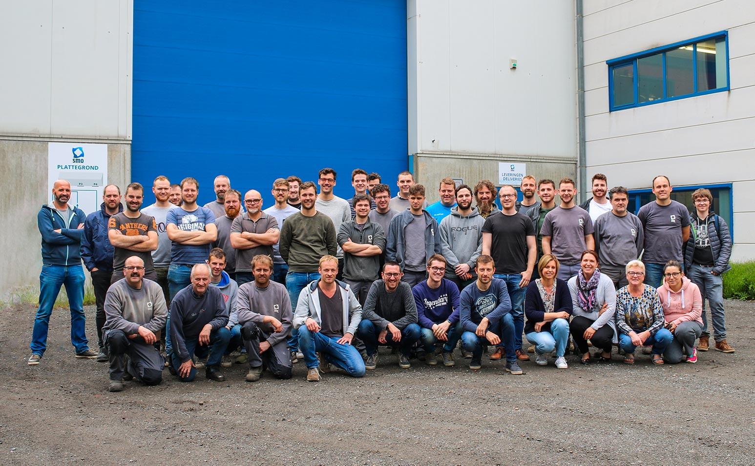 SMO machinebouw groepsfoto