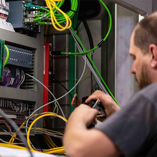 Installatie PINTRO machine