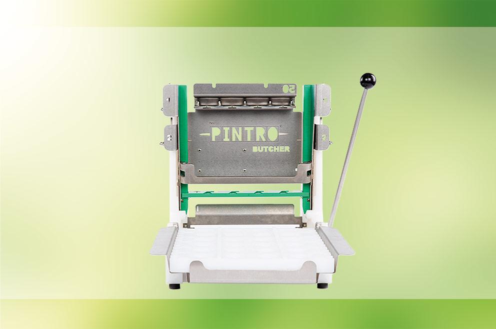 PINTRO P160 manuele brochettemachine wit