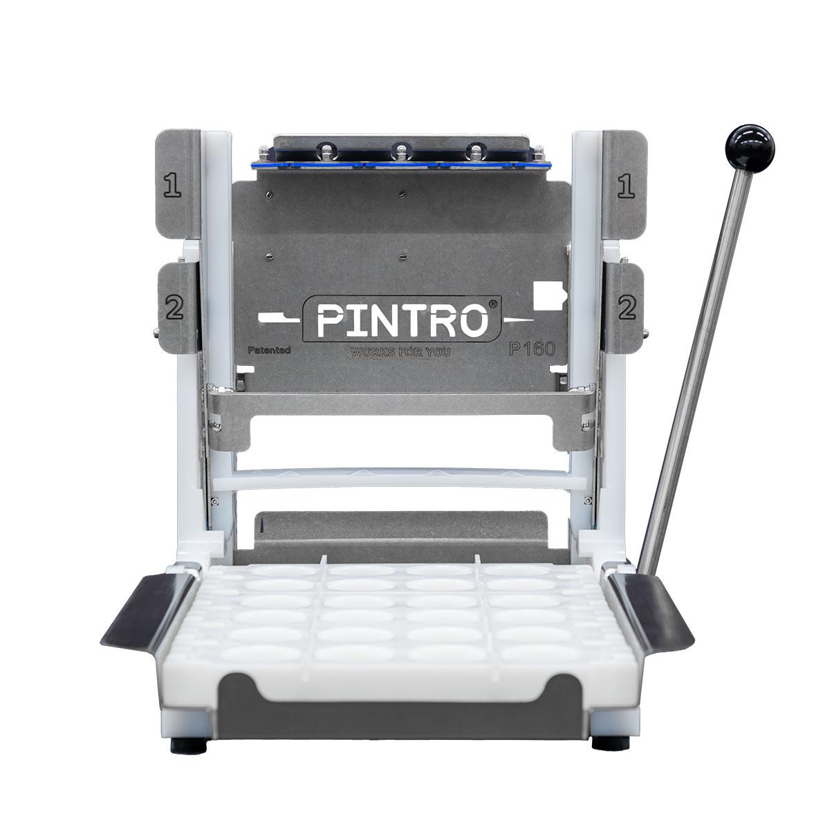 PINTRO P160 manuele spies- en brochettemachine