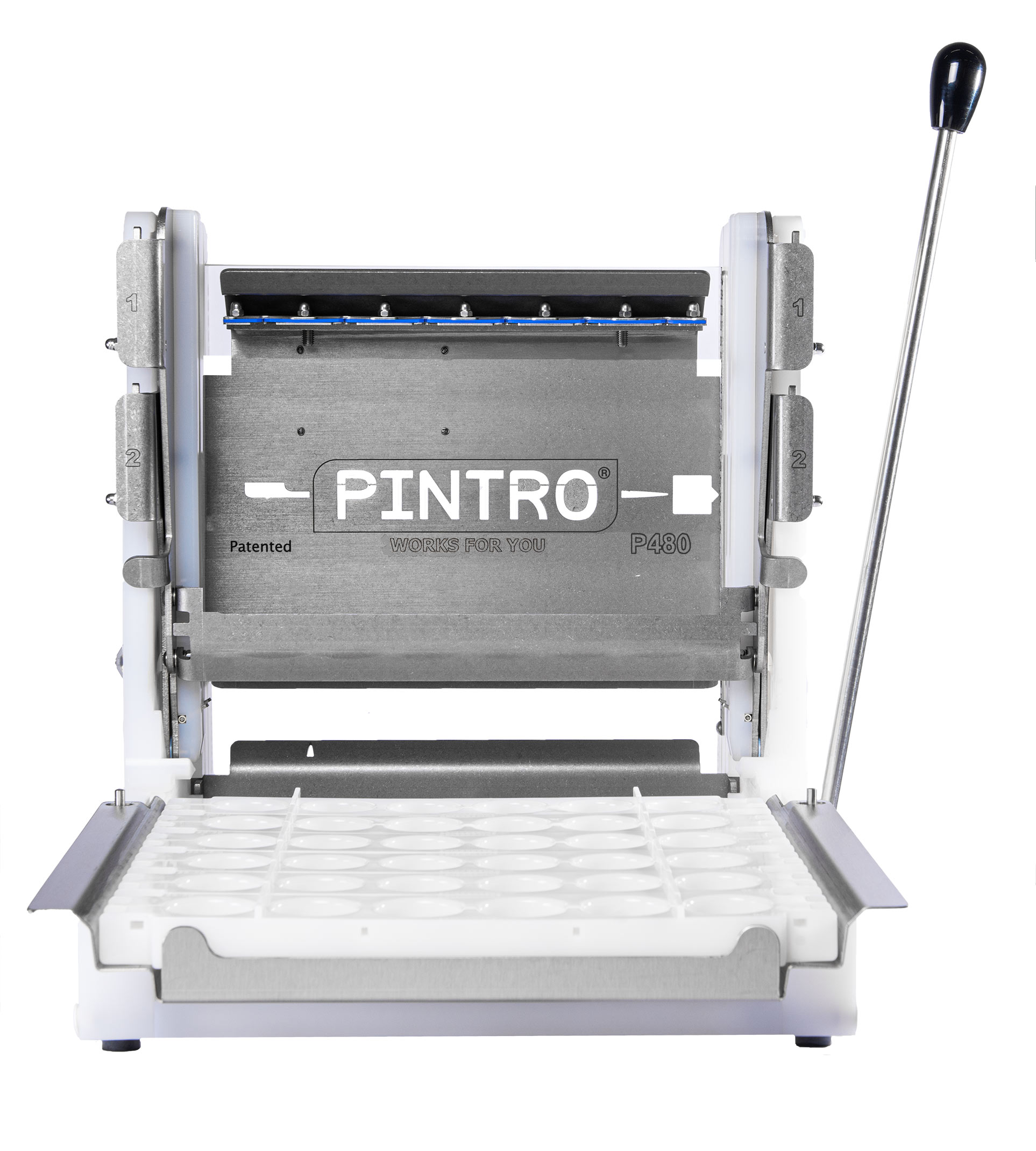 PINTRO P480 manuele spies- en brochettemachine